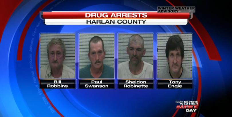 Harlan County Drug Bust Lands 6 Behind Bars - WAXM 93 5 FM